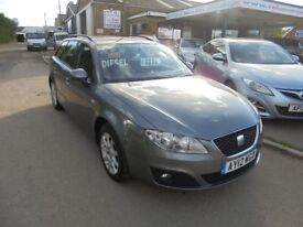 2012 12 seat exeo s 2.0 tdi diesel 6 speed estate (audi a4) 30+ cars in stock.