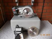 18v Portable Power Saw - works but suitable for repair or spares