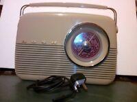 Vintage Retro Style Bush TR82-97 Portable Radio
