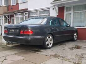 Mercedes w210 e240 v6 breaking W reg 2000 facelift dark grey