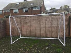 10 ft by 6 ft goalpost