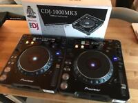 Pioneer CDJ 1000 MK3 + CDJ 1000 MK2 - Mint condition