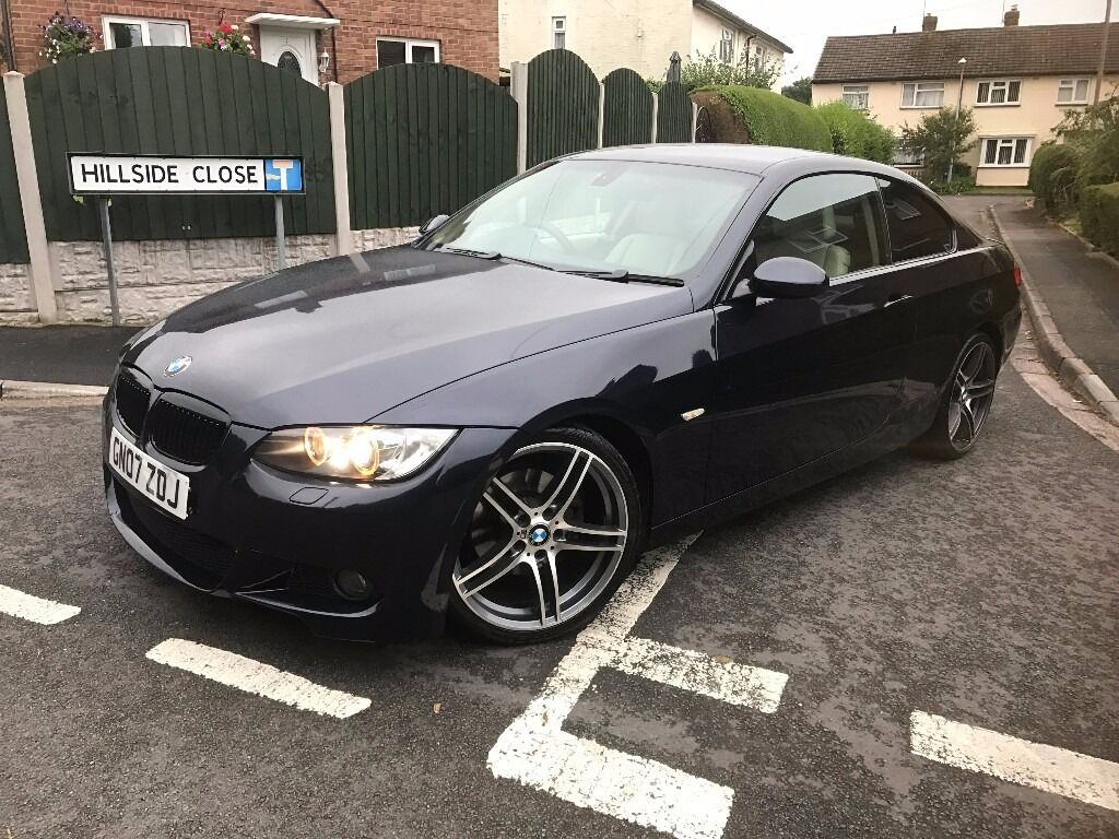 bmw 320d m sport kit 2007 coupe automatic semi auto in telford shropshire gumtree. Black Bedroom Furniture Sets. Home Design Ideas
