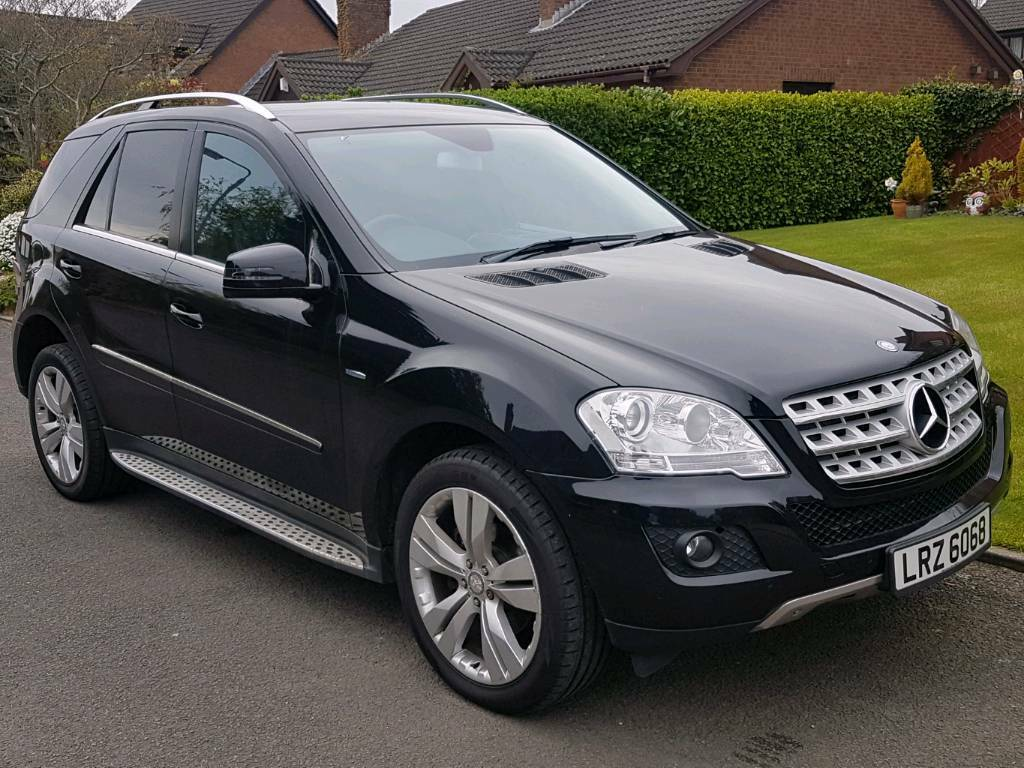 2010 Mercedes Ml350 Cdi Blueefficiency Sport Auto 230bhp