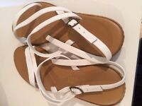 White Sandals For Sale - size 3