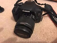 Canon eos 600d plus efs 18-55mm lens