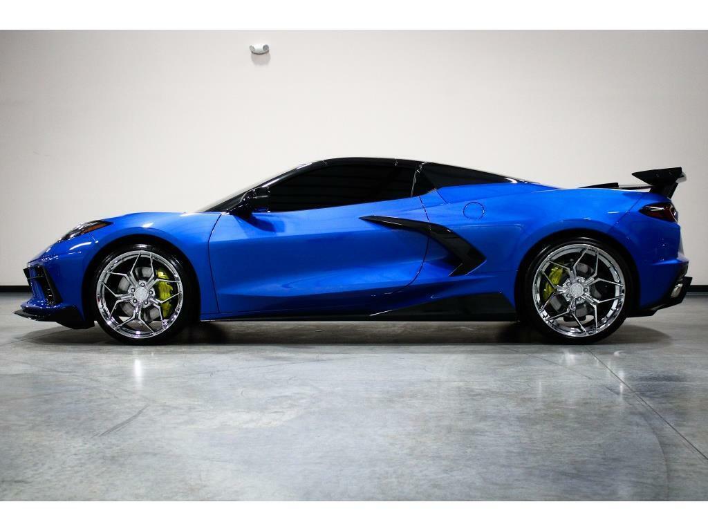 2021 Blue Chevrolet Corvette   | C7 Corvette Photo 2