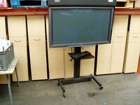 """PIONEER PDP -502MXE PLASMA 50"""" PLASMA MONITOR SOFT BOARD AND PORTABLE STAND"""