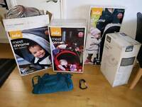 Joie chrome travel system with extras