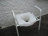 Toilet raiser seat
