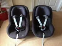 Maxi Cosy Pearl car seat and isofix