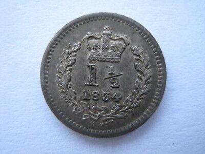 1834 Threehalfpence EF