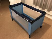 Travel Cot for Caravans, Trailer Tents and Campers
