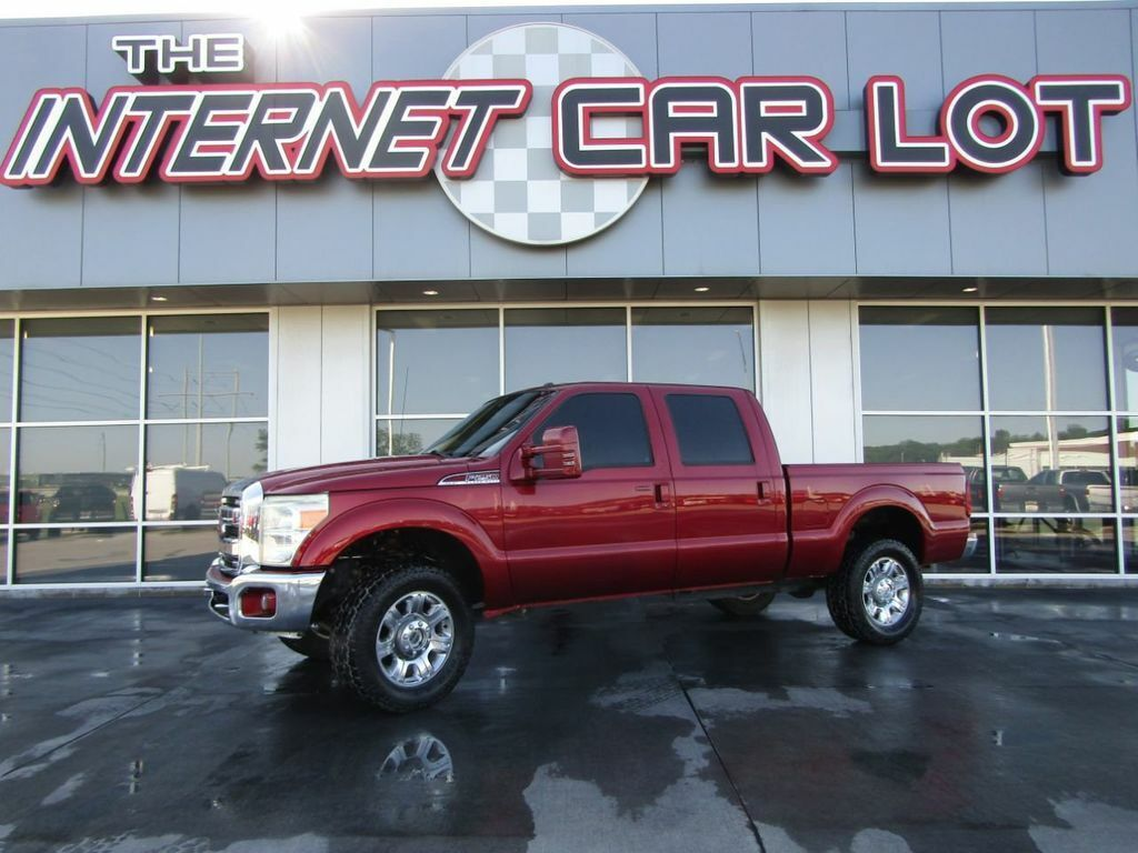 2016 Ford Super Duty F-250 SRW, Race Red with 73733 Miles available now!