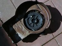 Mower Recoil starter from Briggs/Stratton engine removed from Mower
