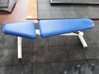 2 Power Sport Commercial Flat Incline Decline Used Benches