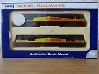 Dapol N Gauge Class 66 Colas Twin Pack Motorised & Dummy Part Number ND-126