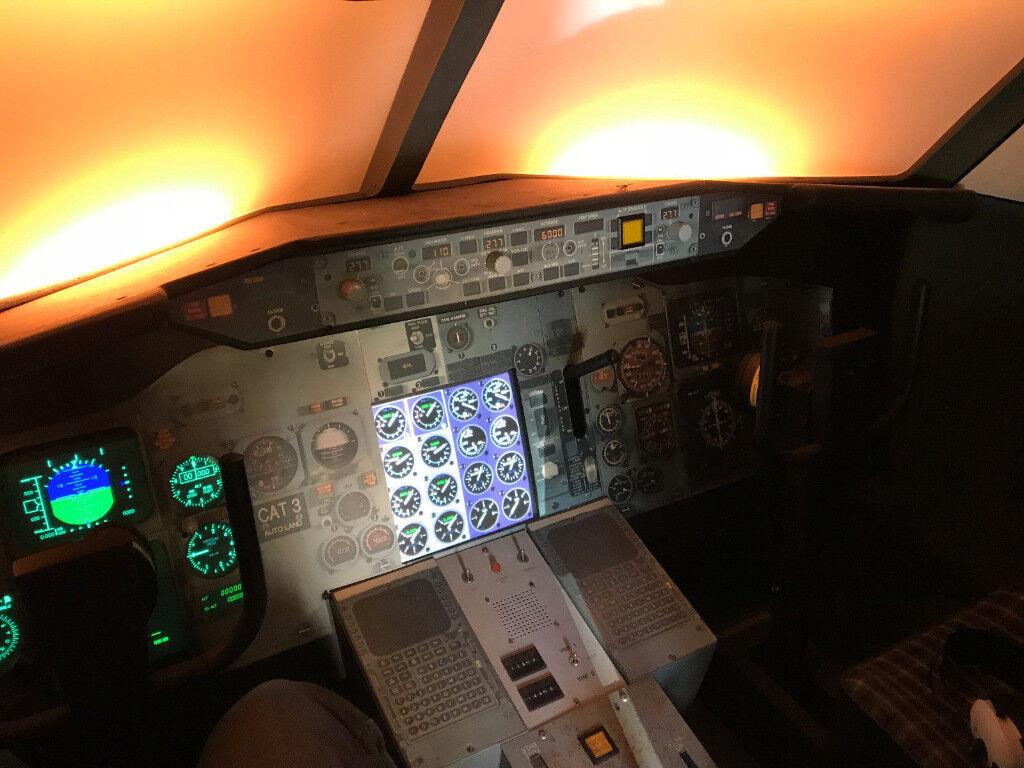 d14fda89d1f IFR IR IMC Flight Simulator Full Size Cockpit Pilot Flight Sim