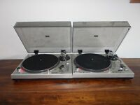 GEMINI XL500 DIRECT DRIVE TURNTABLES GREAT CONDITION/ TECHINCS 1210/1200 ALTERNATIVES/UK DELIVERY