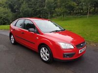 2007 ford focus lovely car low miles long mot