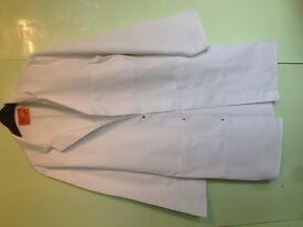 White labcoat size S