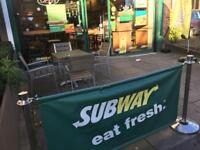 Delivery Driver for SUBWAY