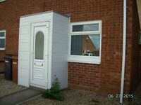 1 bedroom property with open plan kitchen / lounge
