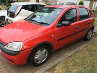 Vauxhall Corsa 1.4 automatic 2002/52 spares or repair