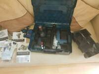 Bosch circular Saw, impact driver, cordless, twin pack,