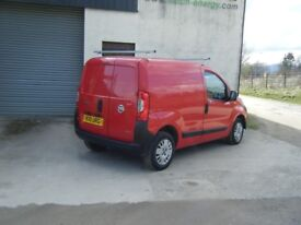 2011 FIAT FIORINO 1.3 DIESEL SMOOTH RELIABLE VAN SAME AS NEMO BIPPER NO OFFERS