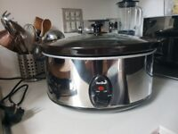 VonShef slow cooker used twice like new