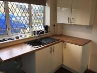 B&Q kitchen - carcasses, worktop, doors, wall cabinets, sink and tap