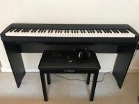Yamaha P-45 Digital Piano - Black