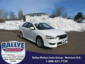 2013 Mitsubishi Lancer SE! Heated! Alloy! ONLY 32K! Save!