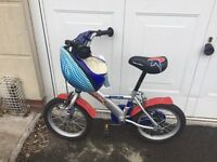 "Boy's Halfords 14"" Rocket Man Bike"
