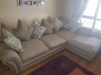 cornor sofa & 2 seater sofa