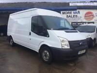2013 ford transit mwb t300 fwd 2.2 tdci 185k full history air con satnav Px welcome