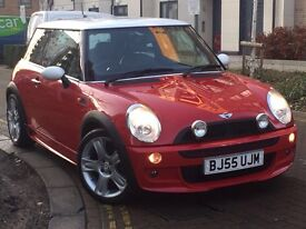 Mini hatch 1.6 cooper s 3dr manual full John works body and engine