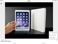 IPad Air 2 Wi-Fi 64GB brand new sealed, choose your colour.