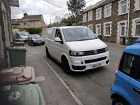 Volkswagen T5.1 Gp Sportline look with tailgate and leather interior. Not T6,T5,T4.