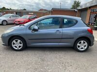 PEUGEOT 207 1.4 S MOT 8 MONTHS CHEAP TO TAX AND INSURE NATIONAL DELIVERY AVAILABLE