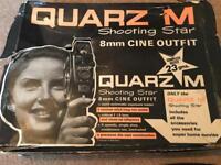 Vintage Quarz M 8mm Video Camera 1960s - Made Russia 🇷🇺