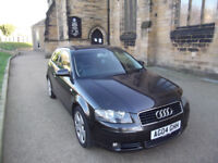 VERY CLEAN A3 FSI 04 REG 6 SPEED LEATHER SEATS