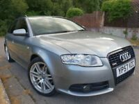Audi A4 Avant S Line Special Edition 170 Black Edition - Sat Nav -Tints - Cruise Control - Leather