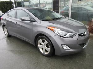 2012 Hyundai Elantra AUTO GLS WITH MOONROOF & ALLOYS
