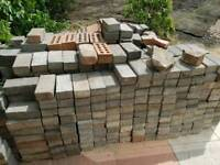 Various blocks for paving and corner stones