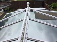 ANGLIAN WINDOWS VICTORIAN STYLE HQ CONSERVATORY ROOF WITH SOLAROOF SOLAR GLASS