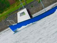 24ft fibreglass fishing boat