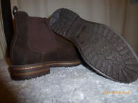 Brand New - REPRISE CHELSEA BOOTS in Nubuck Leather; SIZE: UK 7; EU 41