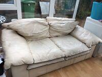 2 x Leather Sofa's - Free!!